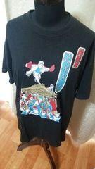 ★和柄 岸和田 だんじり祭り Tシャツ サイズL★