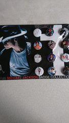 マイケル・ジャクソン 缶バッジセット(12ヶ入)  未使用