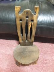 手作り木の椅子★花瓶の台などに