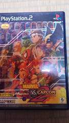 PS 2ソフト MARVEL  VS .CAPCOM 2   New  Age  of  Heroes