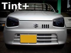 Tint+再利用OK アルトHA36S/HA36V ヘッドライト スモークフィルム
