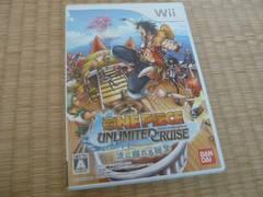 任天堂Wiiソフト■ワンピース アンリミテッドクルーズ ep.1