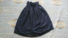 new☆しまむら購入#フィッシュテールマキシ丈スカート#ネイビーM#ブランド同型ロングスカ