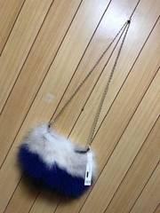 新品★1.3万Mai Oshima豚革フェザーバック