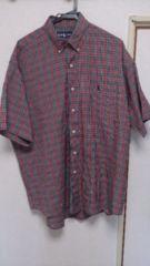 ラルフローレン  チェックシャツ  XL  中古品