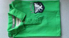 激安78%オフアメカジ、アメリカンイーグル、半袖、ポロシャツ(美品、緑、M)
