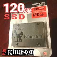 ◆SSD120GB[SA400S37/120G]◆Kingston◆保証付,未使用