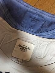 正規店購入!アバクロ Tシャツ2枚セット S