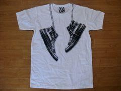 だまし絵 肩掛けスニーカー Tシャツ Mサイズ 新品