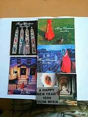 MISIA ミーシャ ポストカード 5枚セット メッセージカード