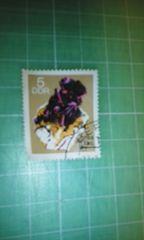 旧東ドイツ記念切手(額面5・鉱石)♪