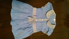 女の子ワンピース110マリンイカリ♪可愛い半袖