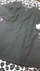 新品 超大きいサイズブラックゆったりフォーマルワンピ(///ω///)♪34ABR