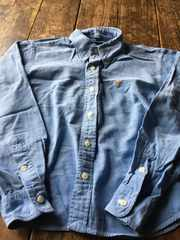 ラルフローレン size140 デニムシャツ