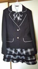 卒業式 スーツ4点セット160サイズ