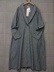 **SM 2* 綿麻ショール ワンピコート 新品 フリー税込9612円