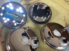 電池式LEDホイールマーカー!土台加工済み。デコトラ!レトロ