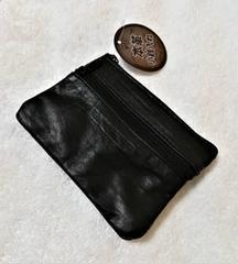 小銭入れ★羊革★ポケット合計3ヶ所★ラムレザー★内布あり★