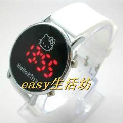 ハローキティ 腕時計 LED  緑 デジタルウォッチ グッズ