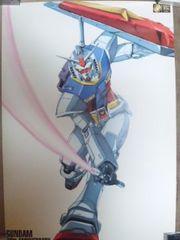 ガンダム、20周年記念ポスター