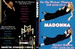 ≪送料無料≫MADONNA UK 5.10.2008 & NYC 4.30.2008 マドンナ