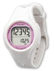 ウォッチ万歩計 WATCH MANPO TM-400 ピンク桃 腕時計型歩数計