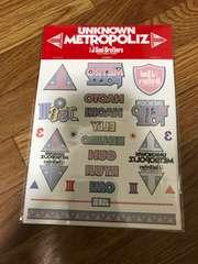 2017 UNKNOWN METROPOLIZ 三代目J Soul Brothers タトゥーシール