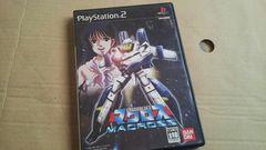 PS2☆超時空要塞マクロス☆シューティング。状態良い♪