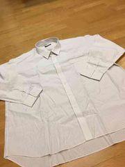 EX  STYLE   ビジネス ストライプ 長袖Yシャツ   size7LB   激安