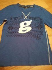 クチクー 長袖Tシャツ         青色160
