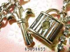 愛*LOVE鍵と鍵穴*チェーンペアストラップ