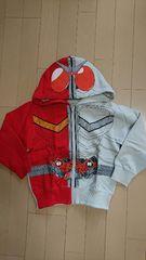 仮面ライダーW ヒートメタル パーカー 子供サイズ110