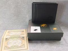 新品■ハンティングワールド■[二つ折財布]ブラック¥41040