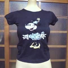 ディズニーミニーマウス スパン&ビーズ Tシャツ