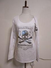Roen × semantic design スカル プリント Tシャツ