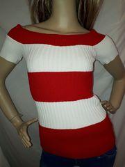 ANAP USA リブ ニット オフショル Tシャツ 赤 大きいサイズ