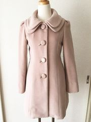 [WILLSELECTION]★リボン付き[ピンク]コート・サイズ[1]★