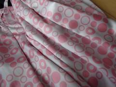 3枚でお得!sunao可愛い丸柄スカート+ニット+トップス