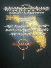 ローリングストーンズバヒロンツアー当時珍しいご当地Tシャツ新品レア