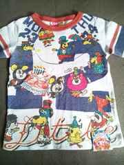 JAM/5分袖Tシャツ/サーカスキャラ/90