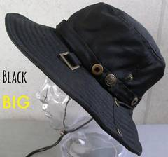 帽子 Lサイズ サファリハット アドベンチャー ボタン 60cm