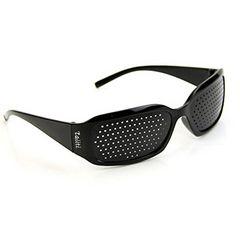 ピンホールメガネ 視力回復 【近視 遠視 老眼 乱視の改善】