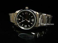新品 ★腕時計 シルバー ブラック/ロレックス好きに