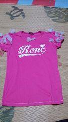 ロニィロゴ半袖TシャツMLピンク