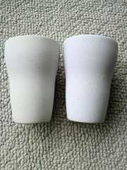 【新品・未使用】陶器カップ2個セット