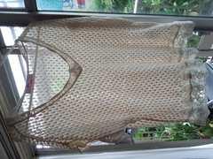 イーフン 編み込みカットソー