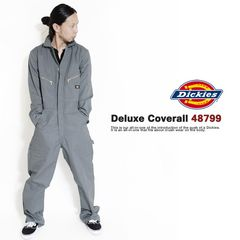 ad0101bsm■Dickies Deluxe Coverall 48799 M灰
