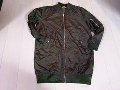 新品ロング丈 MA-1ジャケット