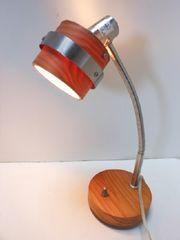 4914◆1スタ◆卓上式ライト デスクライト お洒落な木製 照明器具 縦37cm