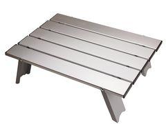 アルミ ロールテーブル ケース付 アウトドア 折りたたみ式